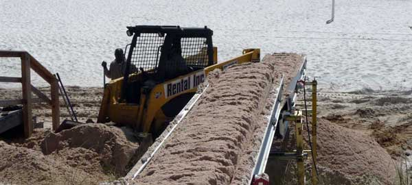 Portable Sand Conveyor