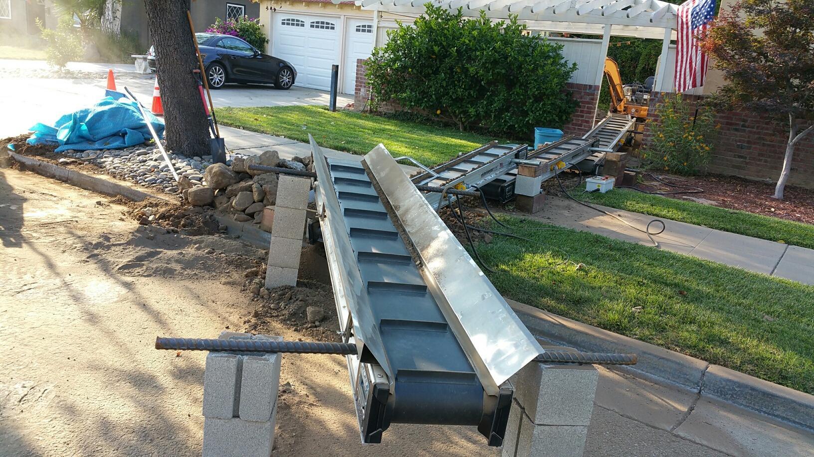 Portable Mini Conveyors Construction Conveyor Systems