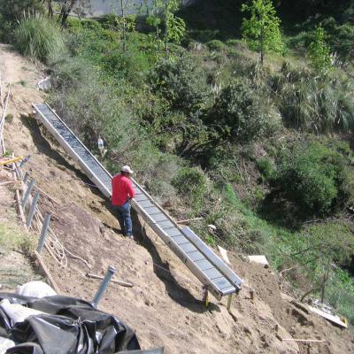 Belt Conveyor Steep Terrain