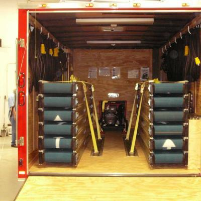New York Fire Department Rescue Conveyor