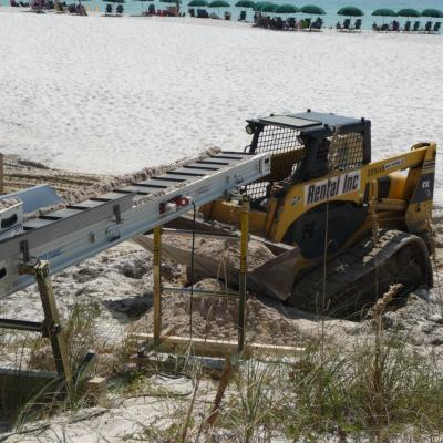 Portable Sand Conveying