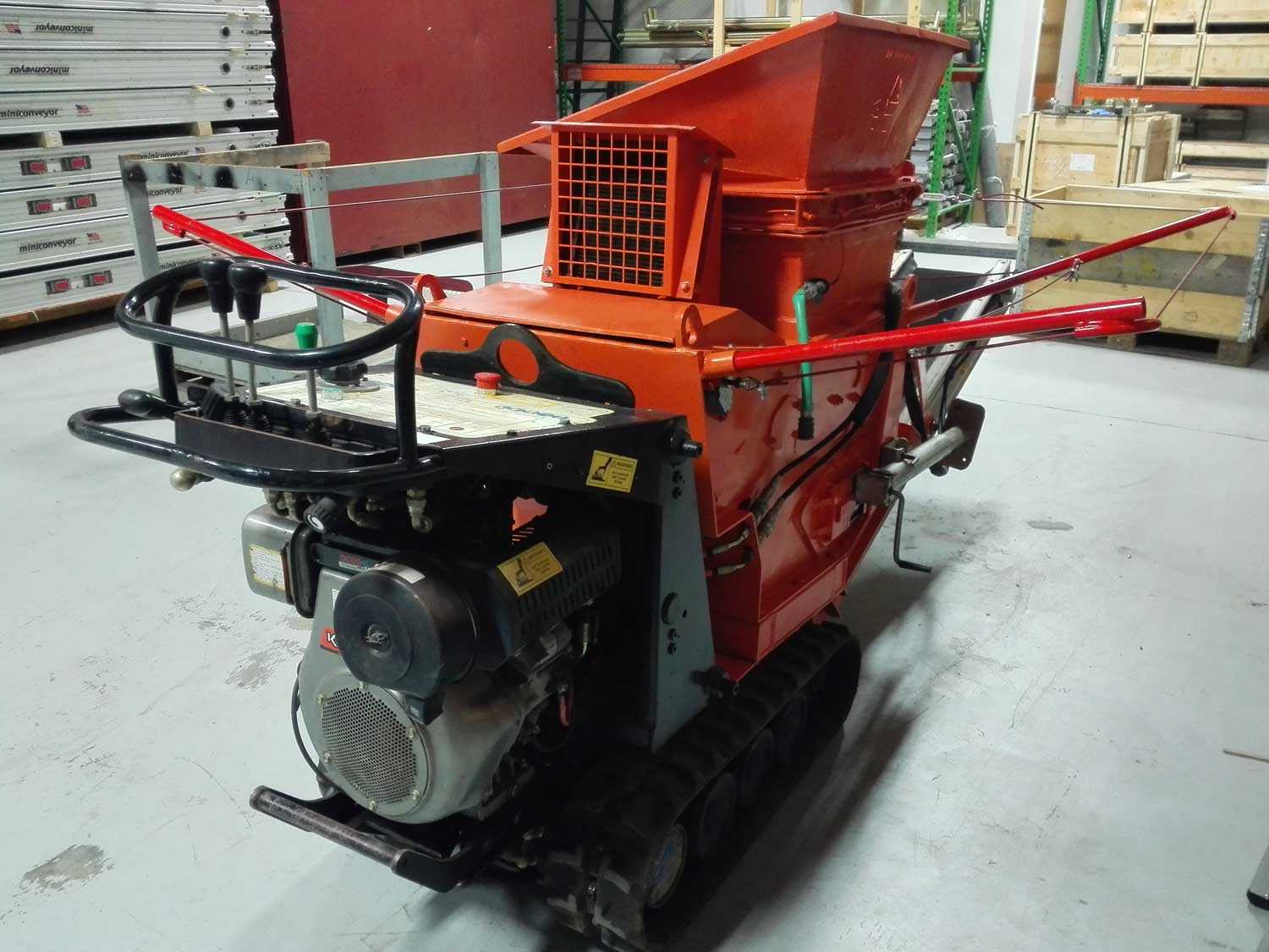 Used Portable Stone Jaw Crusher