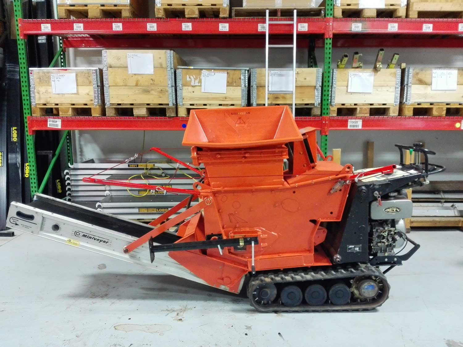 Used Portable Jaw Crusher